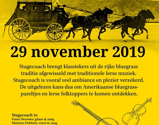 Stagecoach (Bluegrass, Old Time & Irish Folk) in Kontich-Kazerne